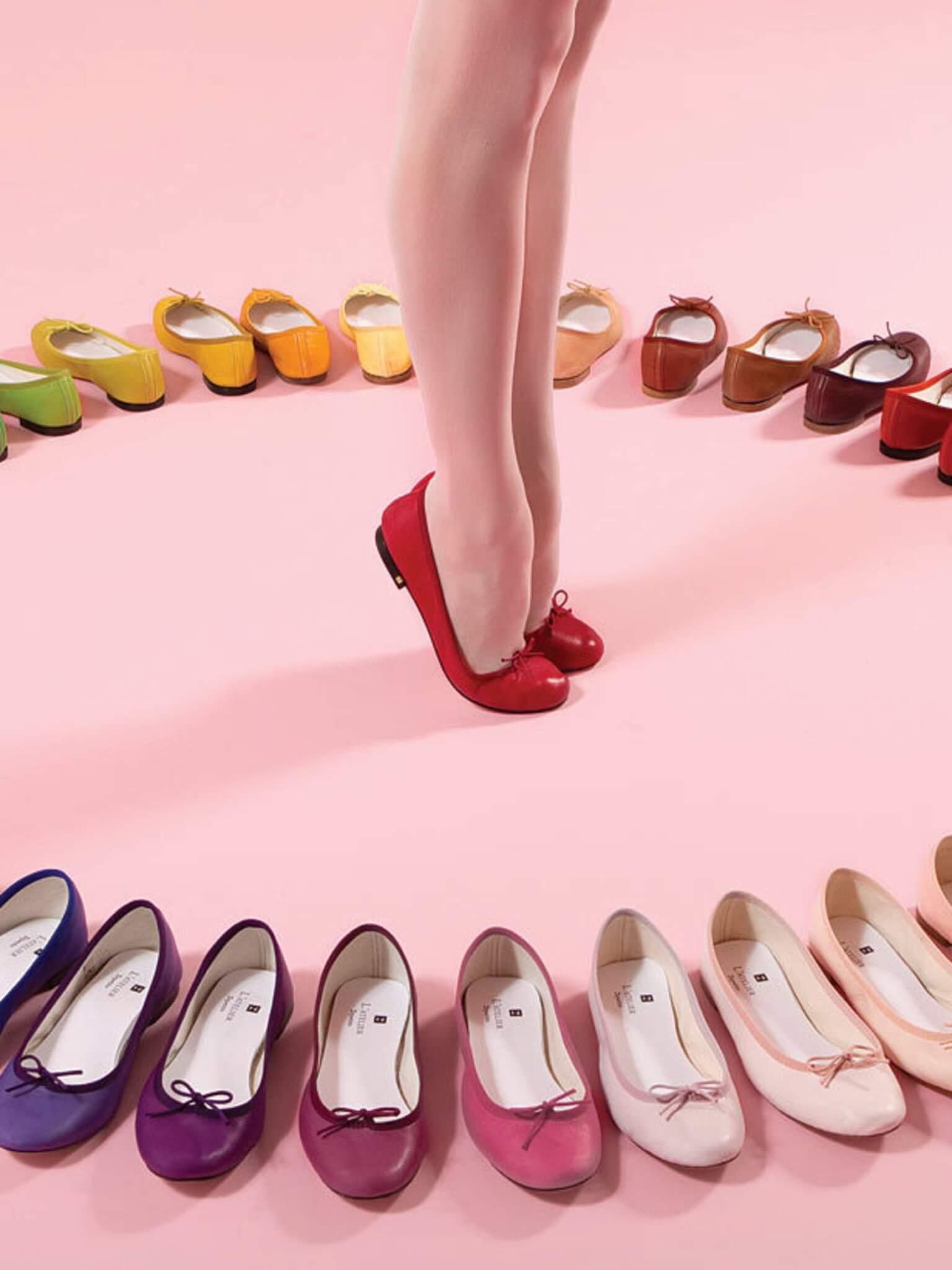 法國鞋履品牌Repetto正是以芭蕾舞鞋聞名於世