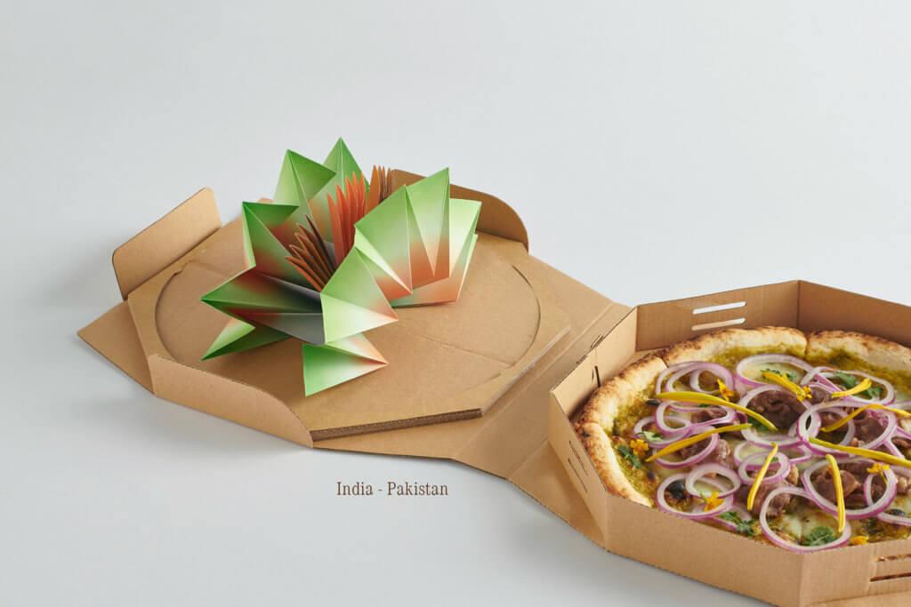 印度—巴基斯坦Pizza:菠菜芝士咖喱遇上卡拉奇漢堡扒