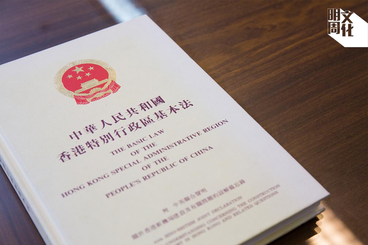 傅華伶在訪問中多次強調,法律不能解決政治問題。