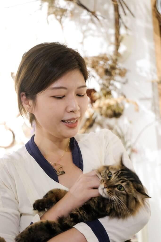 貓貓「芝麻」是駐店之寶,Hidy希望每位到訪者都帶着貓般的好奇心目光,發揮與生俱來的創意。