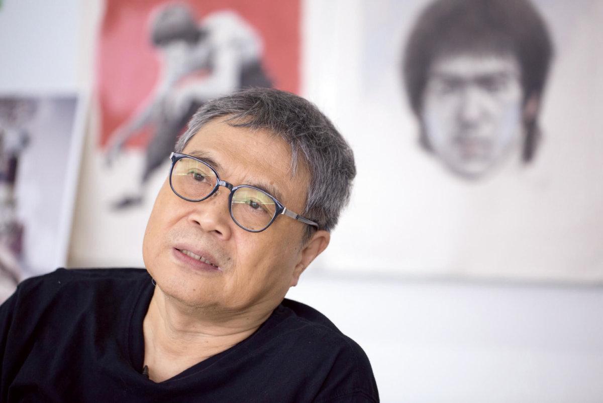 上世紀七十年代至九十年代初,阮大勇是 炙手可熱電影海報畫家。