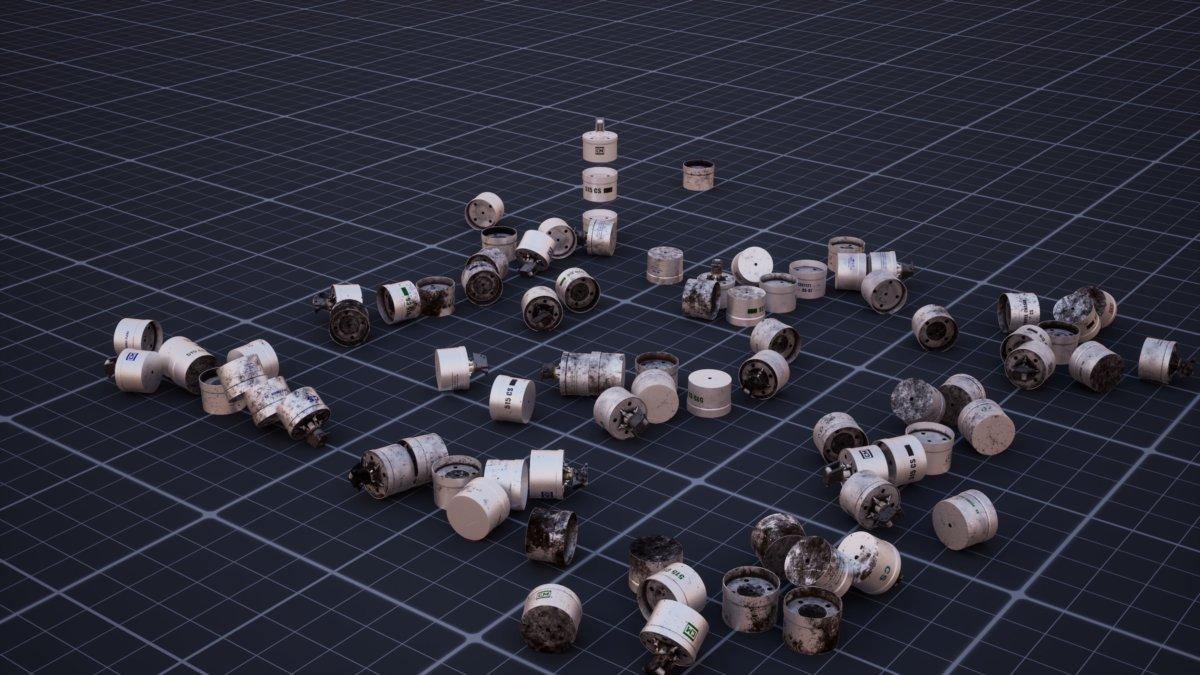 Forensic Architecture的作品《三重追蹤》追查前惠特尼美國藝術館的董事會副主席Warren Kanders與其催淚彈製作公司Safariland的催淚彈應用狀況。