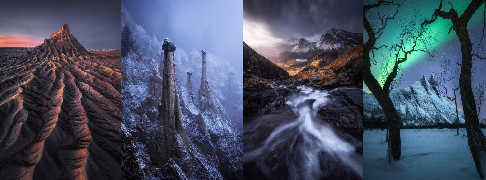 Kelvin憑着四張分別在美國、意大利、蘇格蘭及挪威拍攝的照片,奪得2020國際年度風景攝影師全球冠軍。