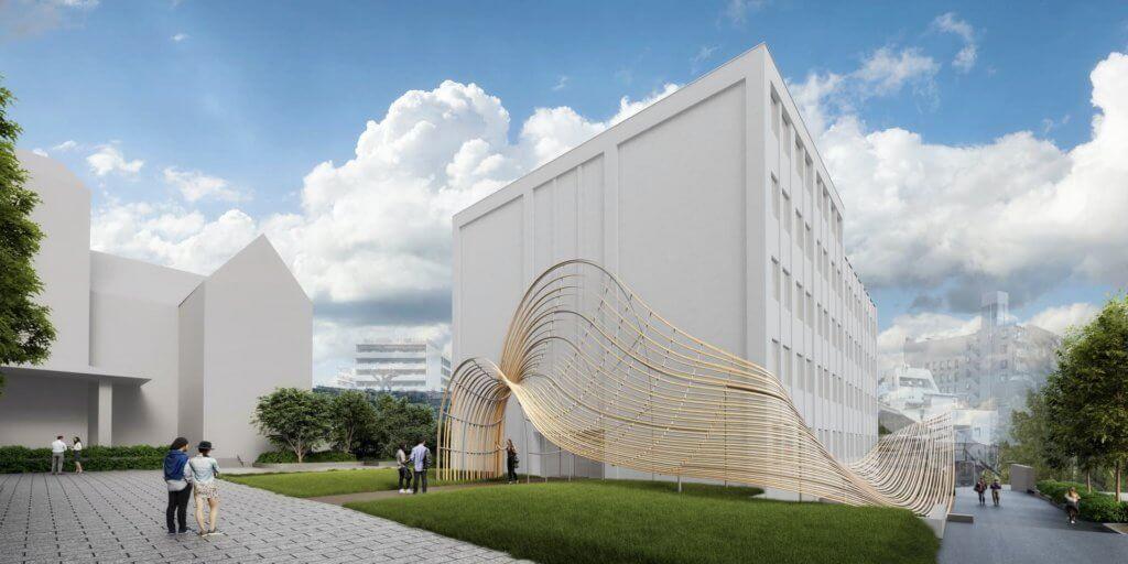 日本東京早稻田大學的國際文學館將於2021年秋天啟用。