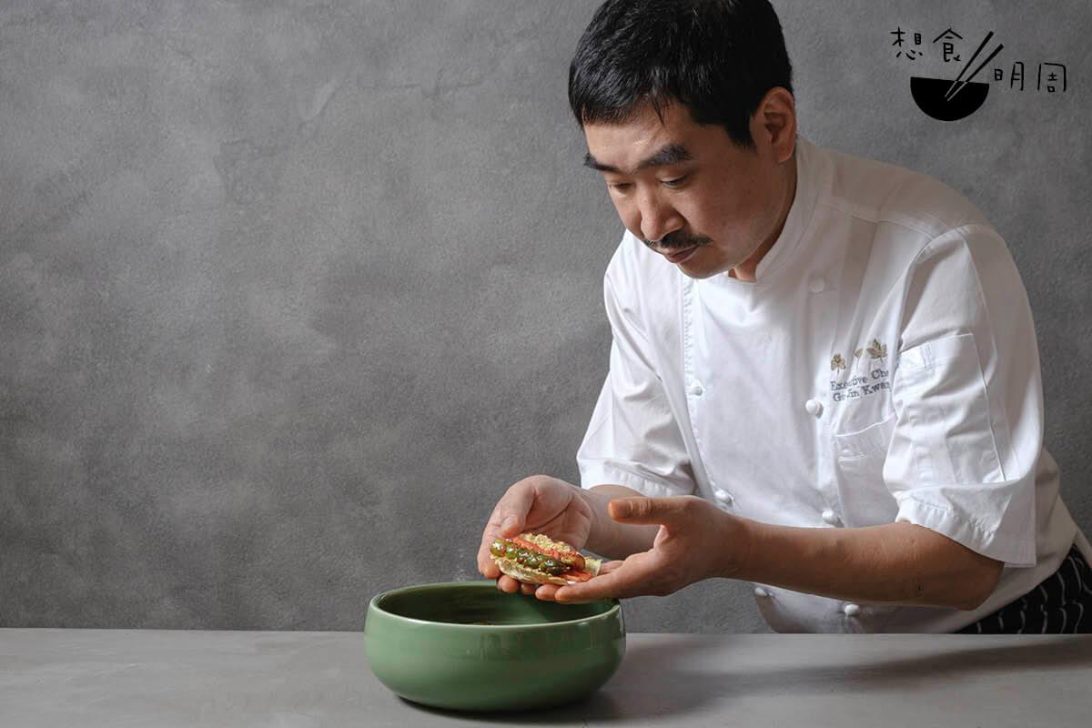 在具辰光眼中,泡菜就如沙律,配搭並不規律,全在乎廚人的眼界及心思。