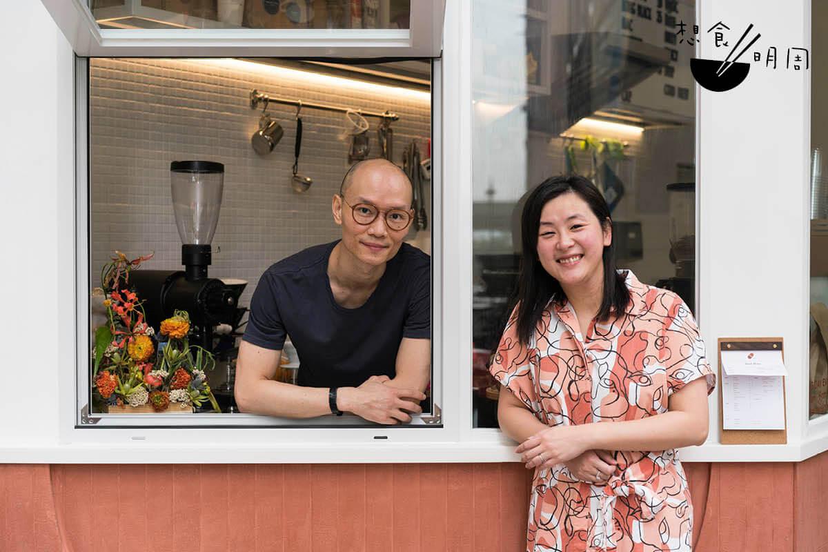 基本上,澳洲每個州都有自己的一套嘗啡文化,而老闆Gary Wong(左)及拍檔Michelle(右)開店,便希望把西澳珀斯及南部墨爾本的文化帶來香港。