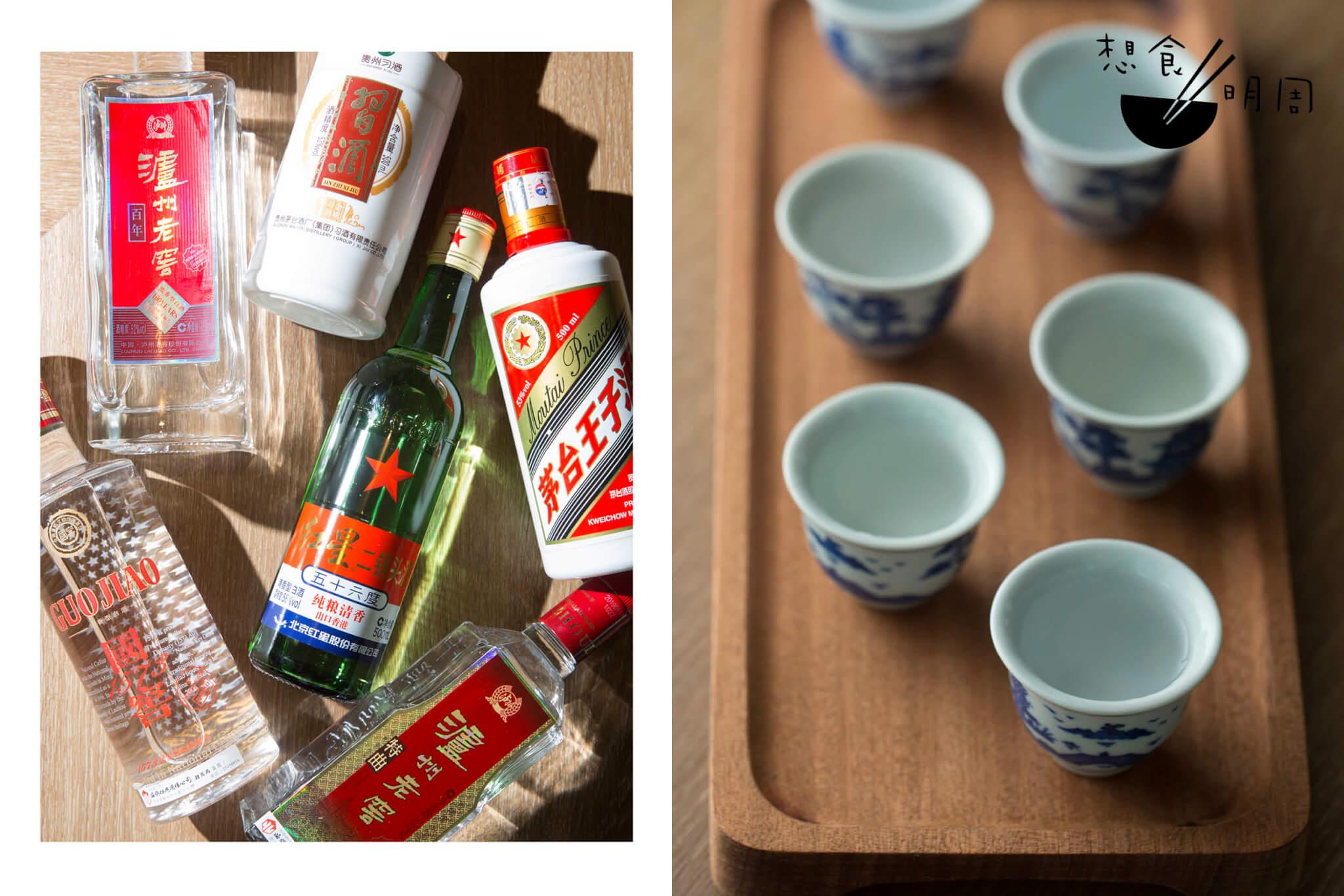 中國白酒之旅 // 一套六款,包括清香型的紅星牌二鍋頭,醬香型的茅台(王子)及習酒金質,還有濃香型的國窖1573、百年瀘州老窖、老字號瀘州老窖。($288)