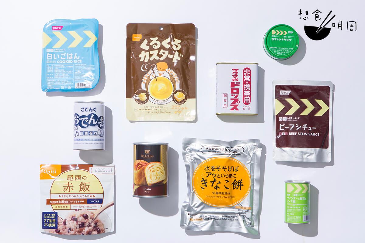 日本的防災罐頭和食品種類繁多,包裝設計也絕不馬虎。有些罐頭品牌還會跟插畫師合作,推出限定設計的防災罐頭,亦是不少當地人的送禮選擇!