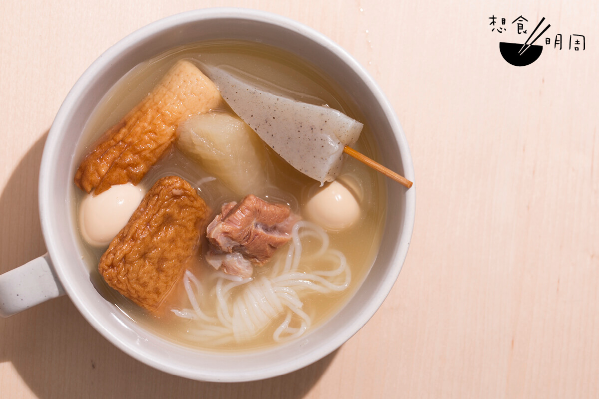 罐頭關東煮不用加熱就能食用,除了當作防災食物外,日本人亦愛在閒時食用!