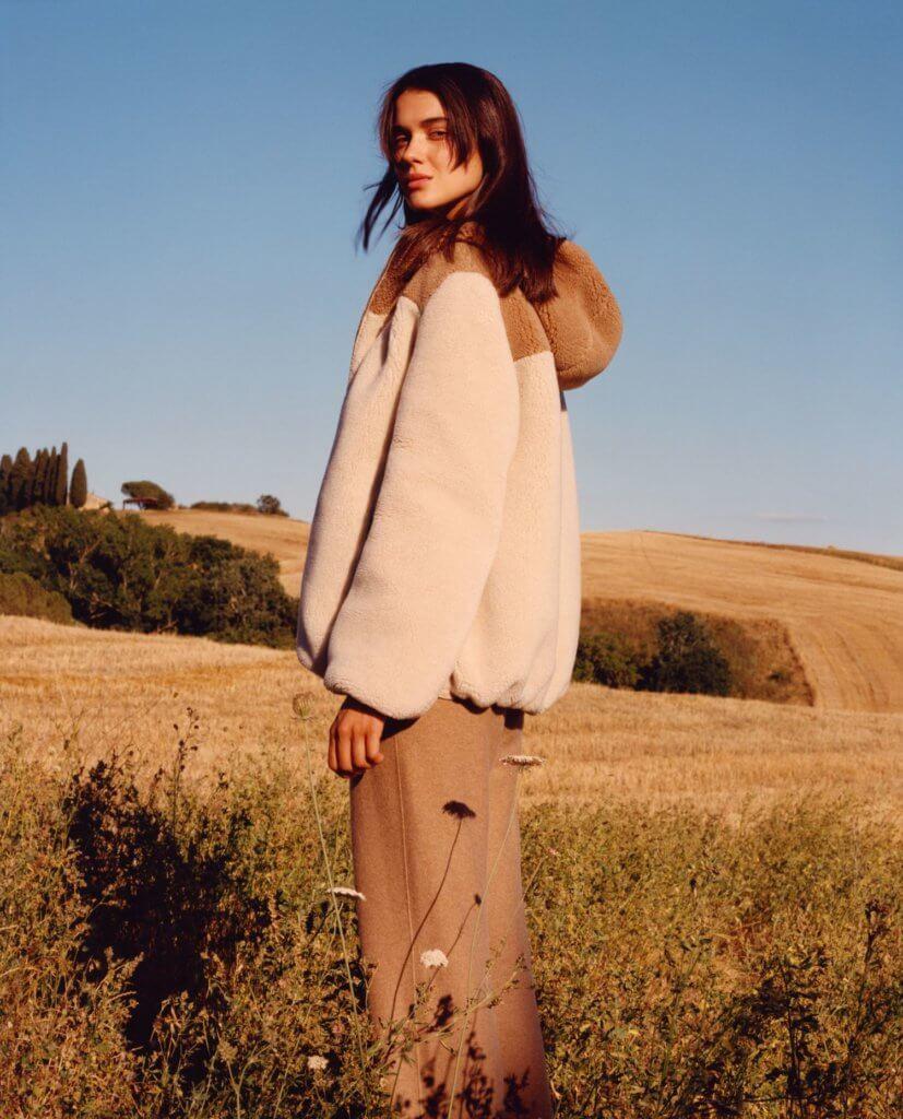 Loro Piana以頂級羊絨研發出具毛皮質感的嶄新物料Cashfur。