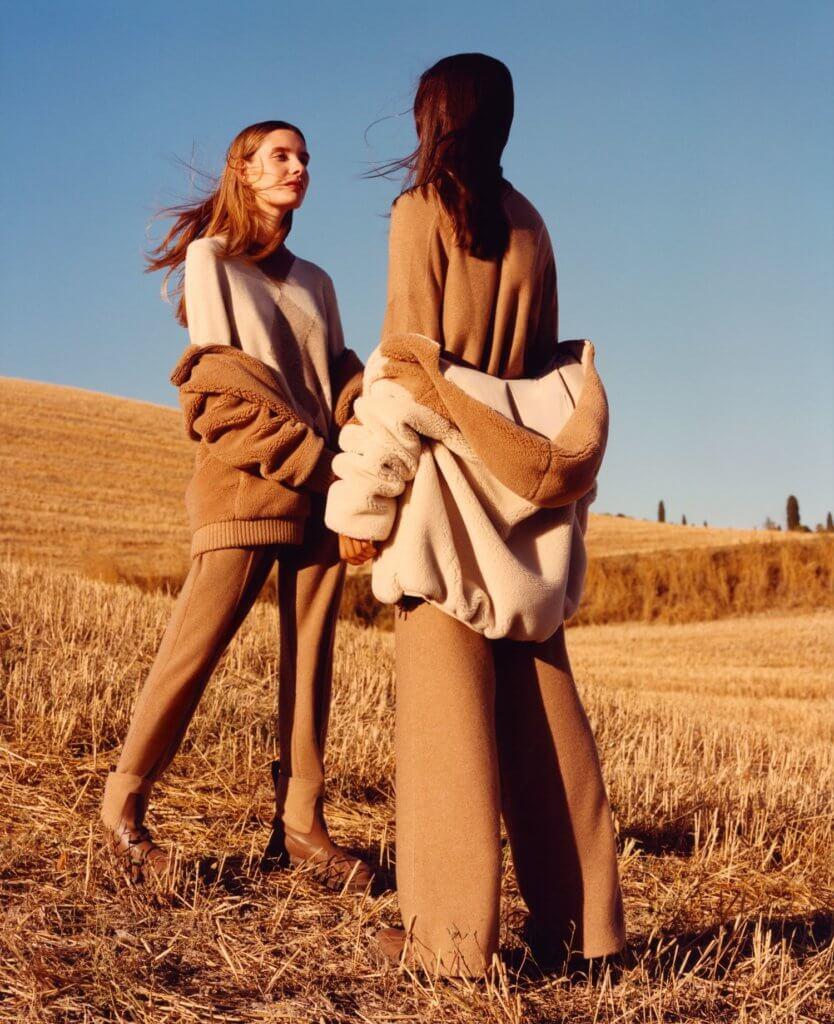 Cashfur為向羊絨的純淨質感致意,特別採用溫暖迷人的色彩。