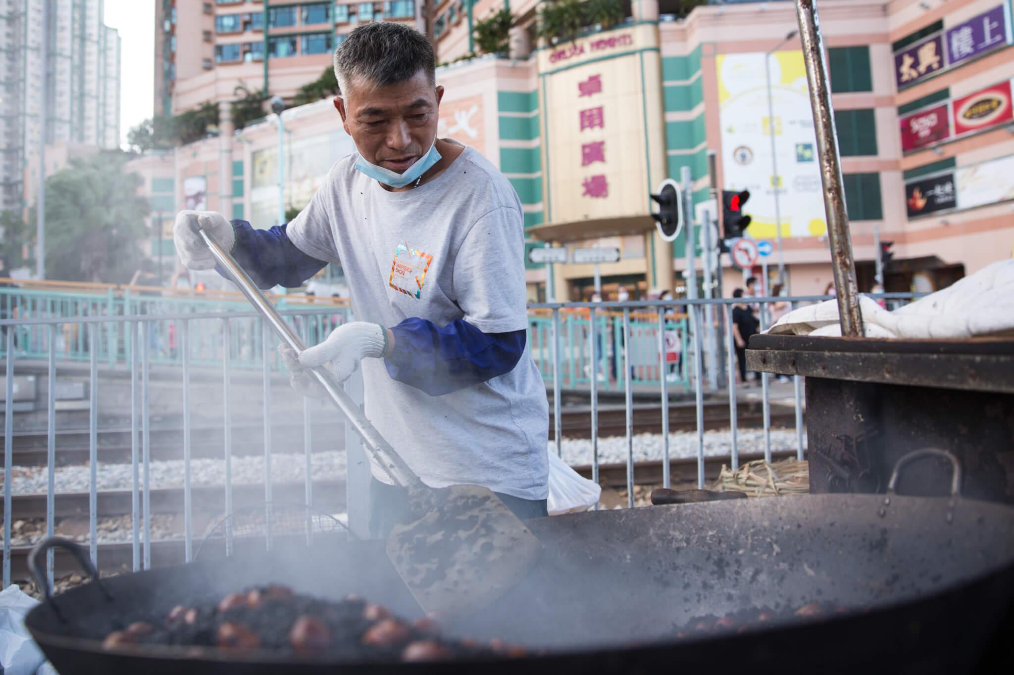 黃柔淳說,自己較愛吃栗子公,吃來較香脆。