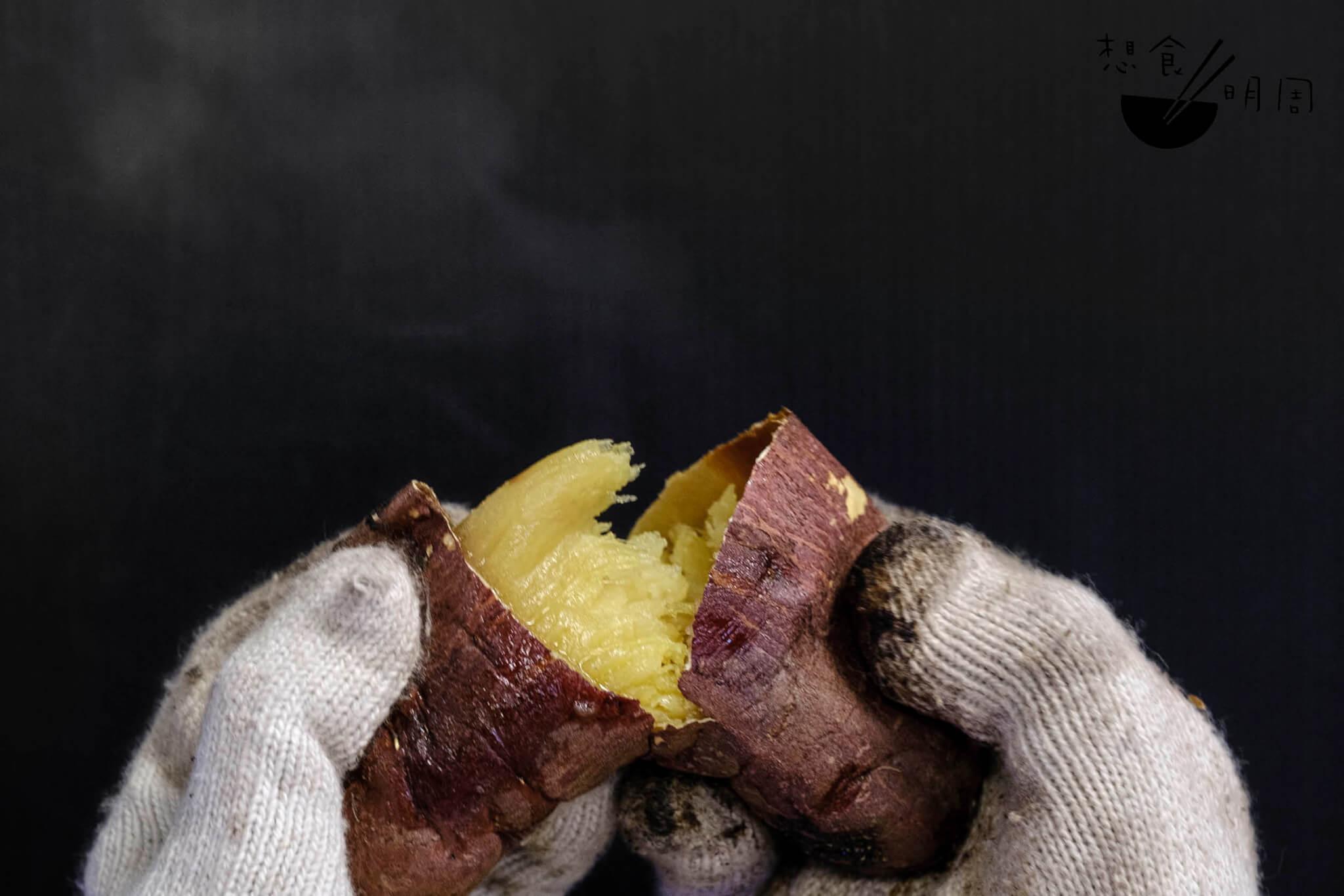 烤鹿兒島蕃薯($10/半份;$20/全份)