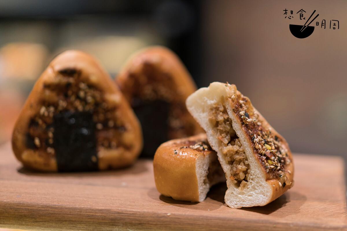 飯糰麵包雖然IG-able,但兩種食材還是分開吃較好……