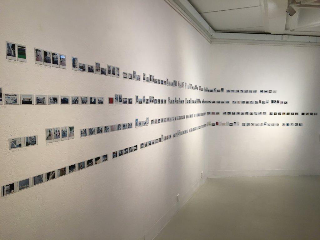 白雙全的〈用文學家遊記的格式編寫一個本地旅行路線〉,回應潘國靈〈伴離之旅〉。圖片:香港文學館