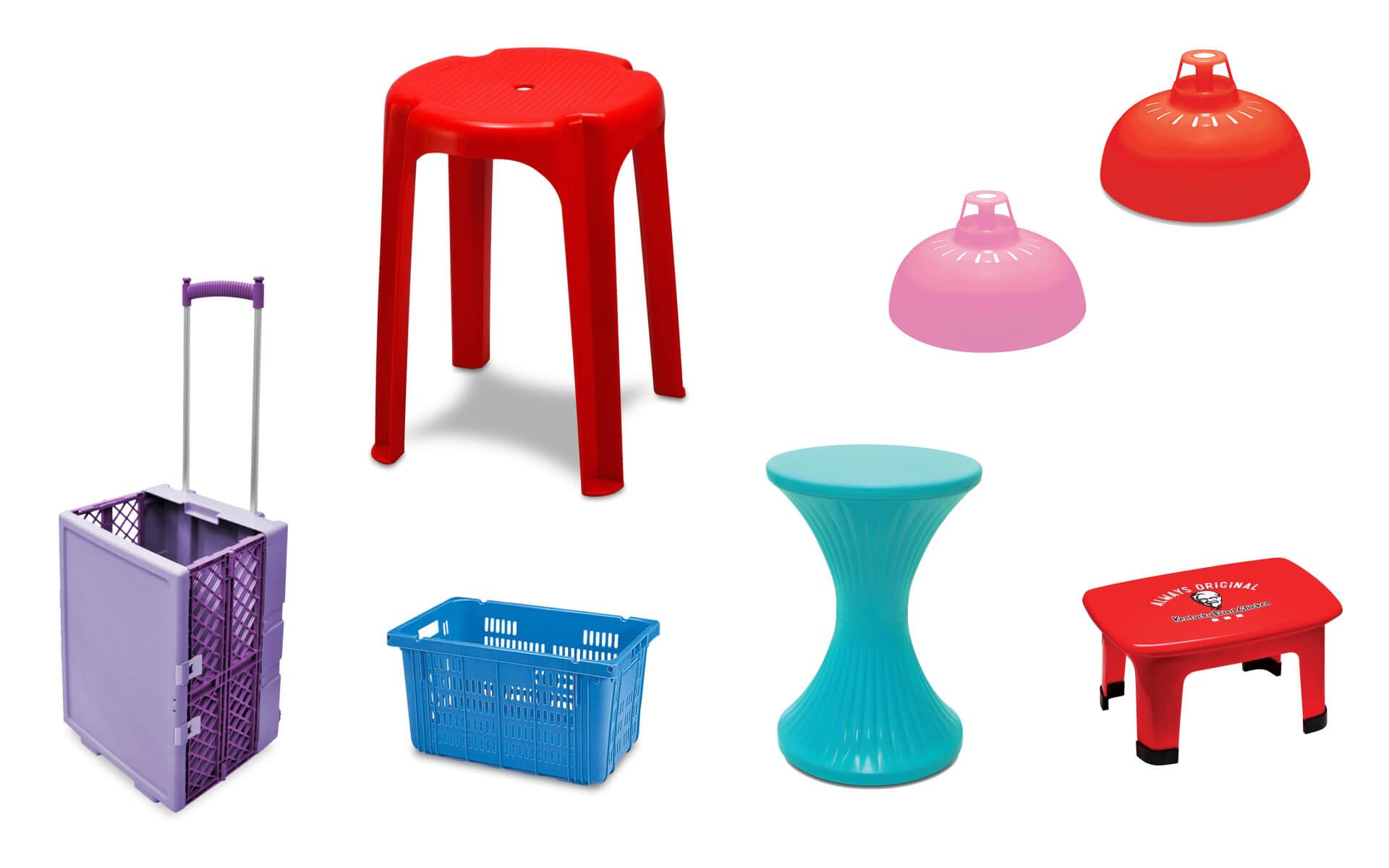 紅A多年來生產無數家用、商用和醫用塑膠產品,生活中總會見過或用過其中一二。