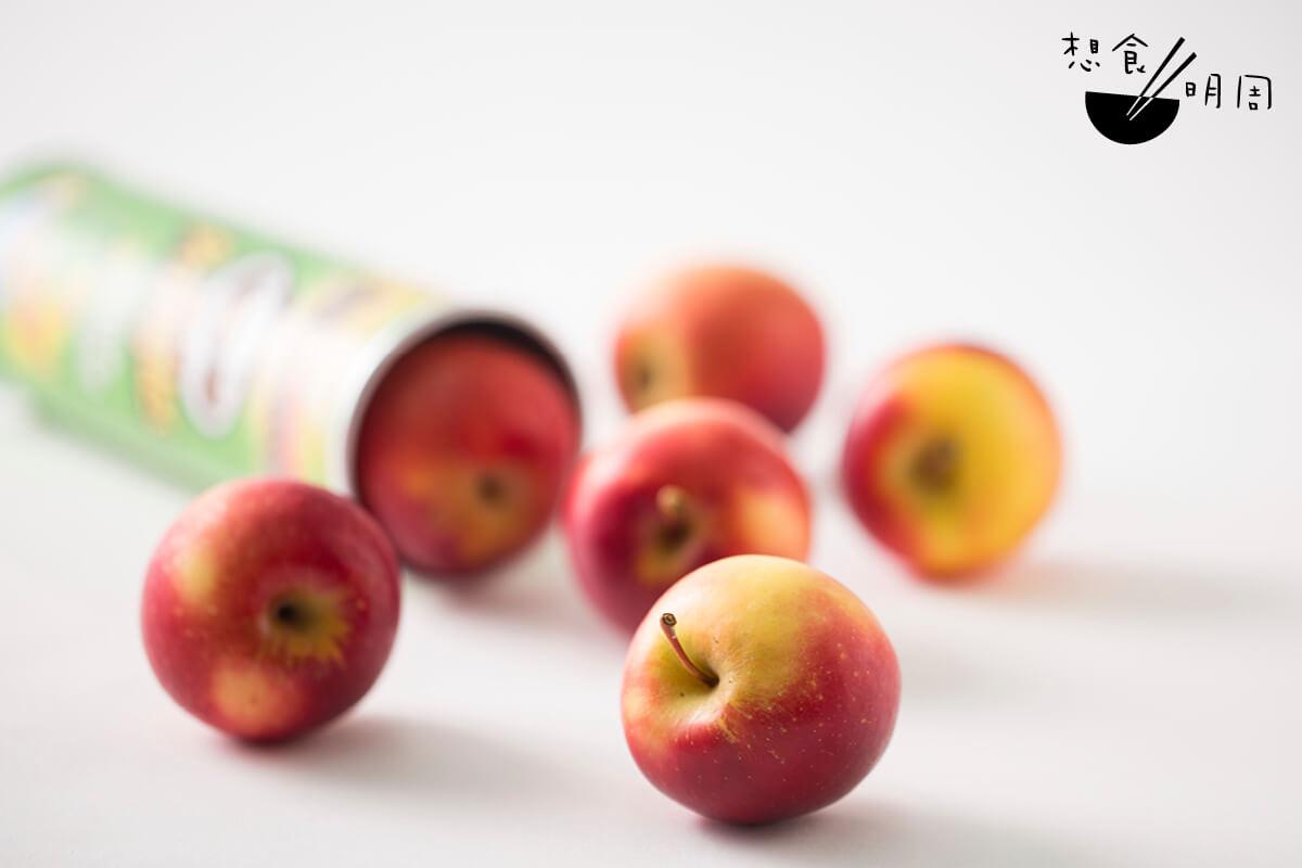 如果吃蘋果如吃薯片般方便,你願意以蘋果取代零食嗎?