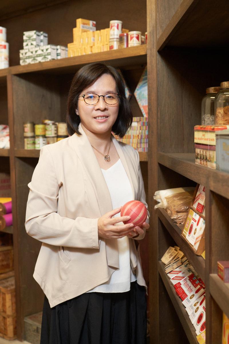 香港歷史博物館一級助理館長(都市及口述歷史)劉思詠(Carol)