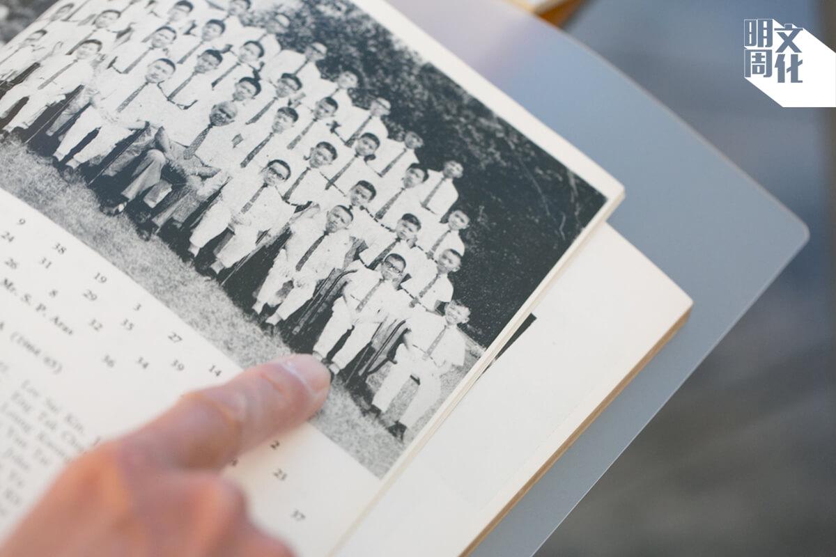初中的吳天海身材較為瘦小。他笑言自己畢業的時候,與今日的身高體重相若。