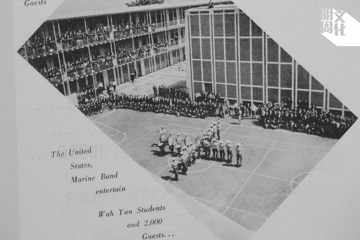 美國海軍銀樂隊獲邀到校表演
