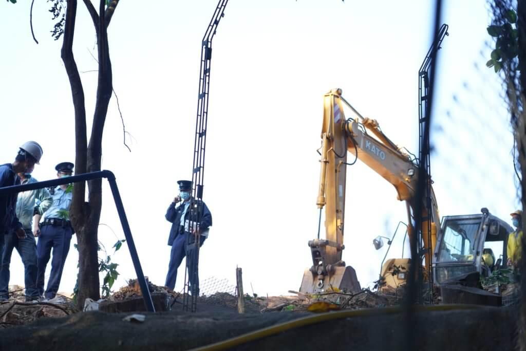 現時清拆工程已經暫停。