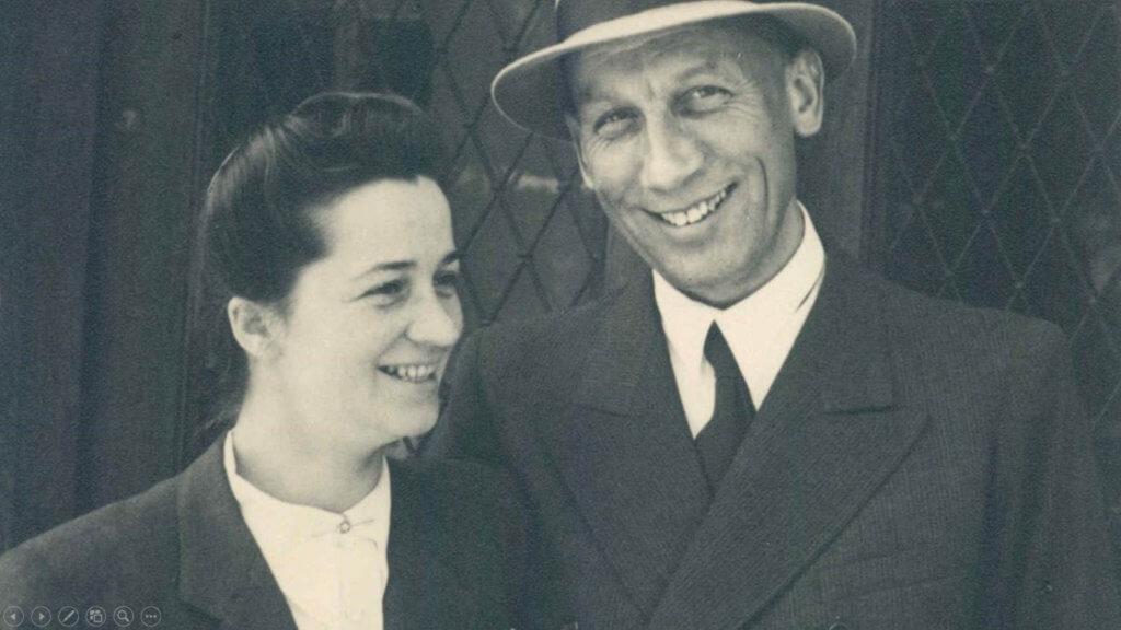 創辦人Alfred Kärcher(右)