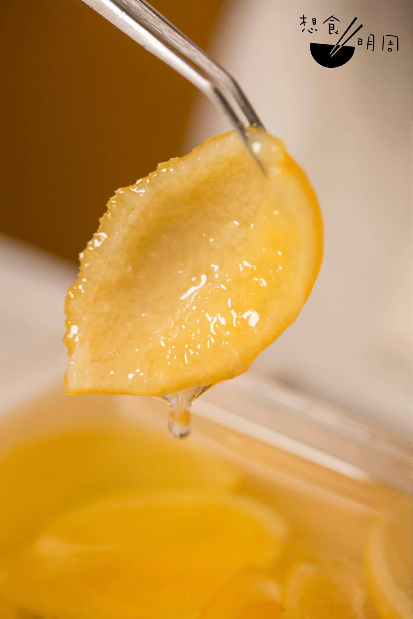 糖漬山檸柑皮
