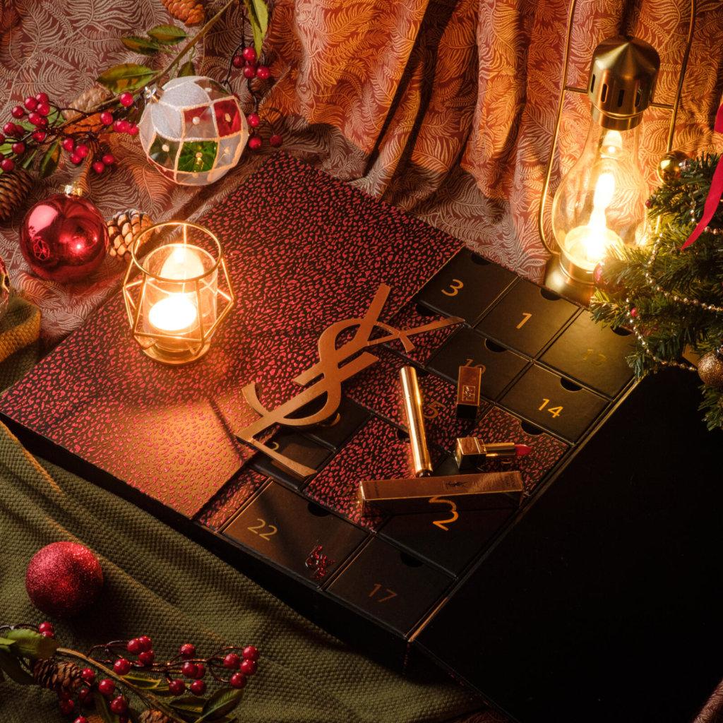 YSL BEAUTÉ限量聖誕倒數月曆禮盒 $2,500