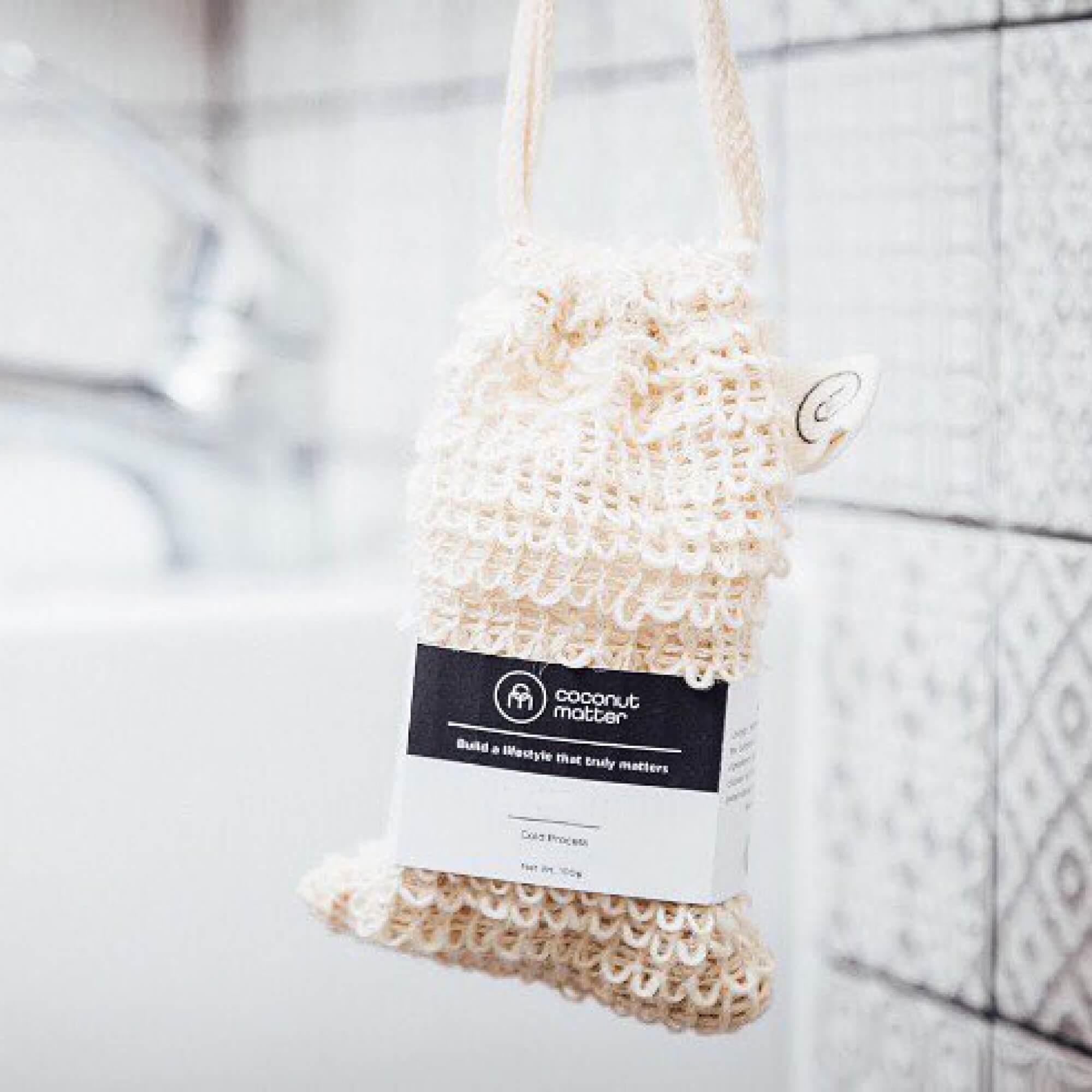 Coconut Matter 劍麻纖維肥皂起泡袋