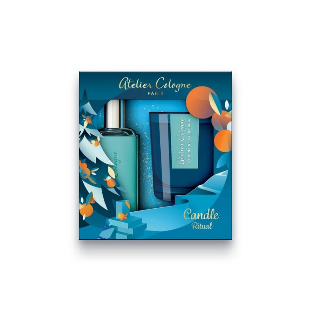 Atelier Cologne「逐愛柑香燭影禮盒」 (加州盛夏香型) $680