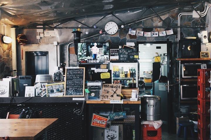 走進礦工cafe,以為穿越了時空,回到70多年前的礦場。(圖片來源:網上)