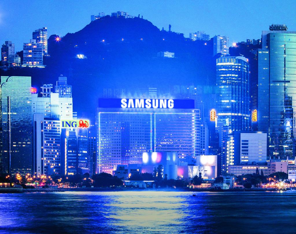 到了2009年,Samsung招牌已由霓虹改為LED。(圖片由POAD提供)
