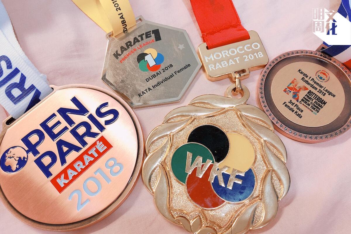 二Ο一八年開始,劉慕裳密集參與各項排名賽,爭取積分,換取奧運入場券。