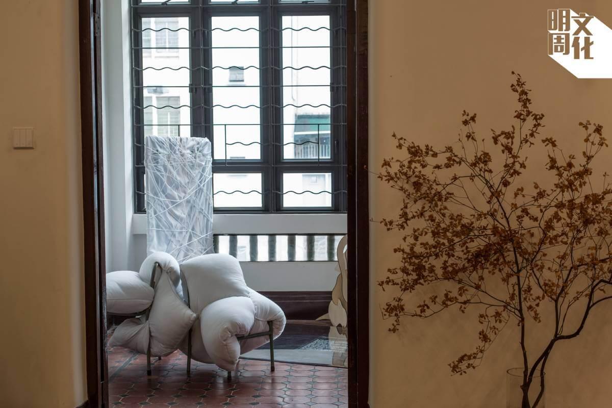 展覽除了展出香薰,也有五件裝置作品。