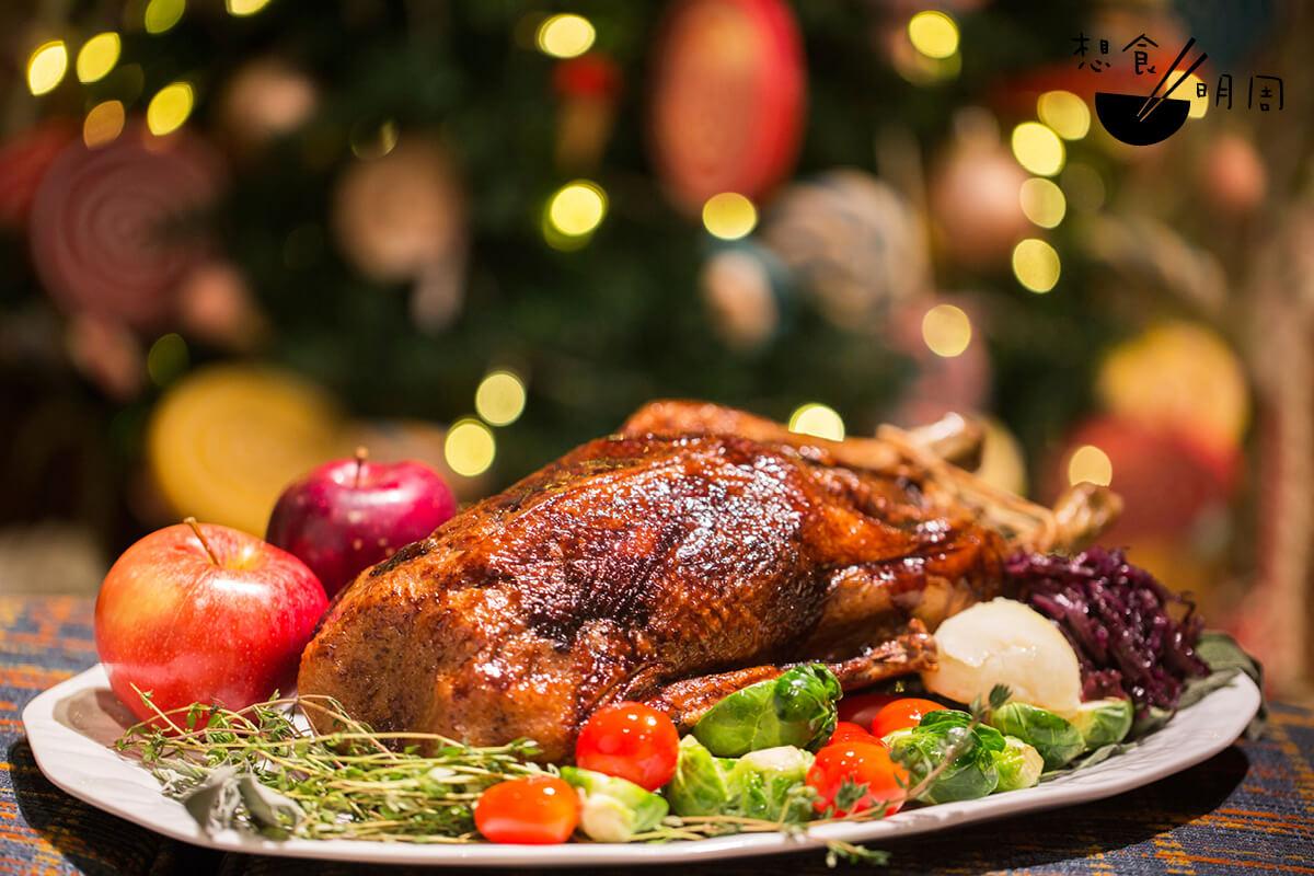 今年去不了德國聖誕市集,那就以啖啖肉的德式「烤鵝」應節!