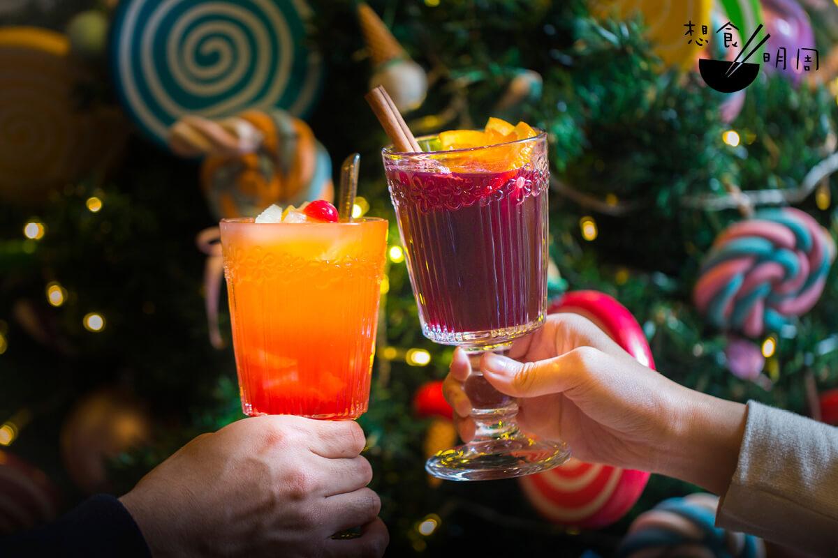 聖誕節又怎能少了雜果賓治和熱香料酒的縱影呢?Merry Christmas, Cheers!