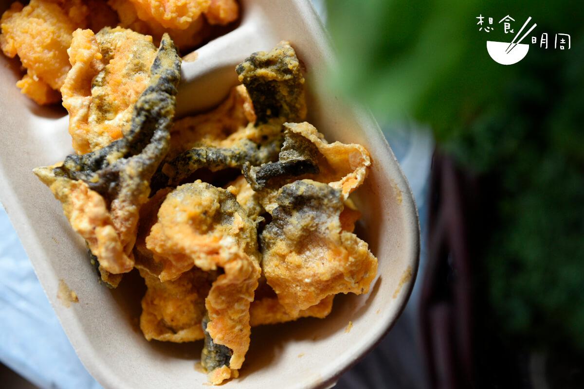 黃金魚片更成了盆菜的彩蛋。