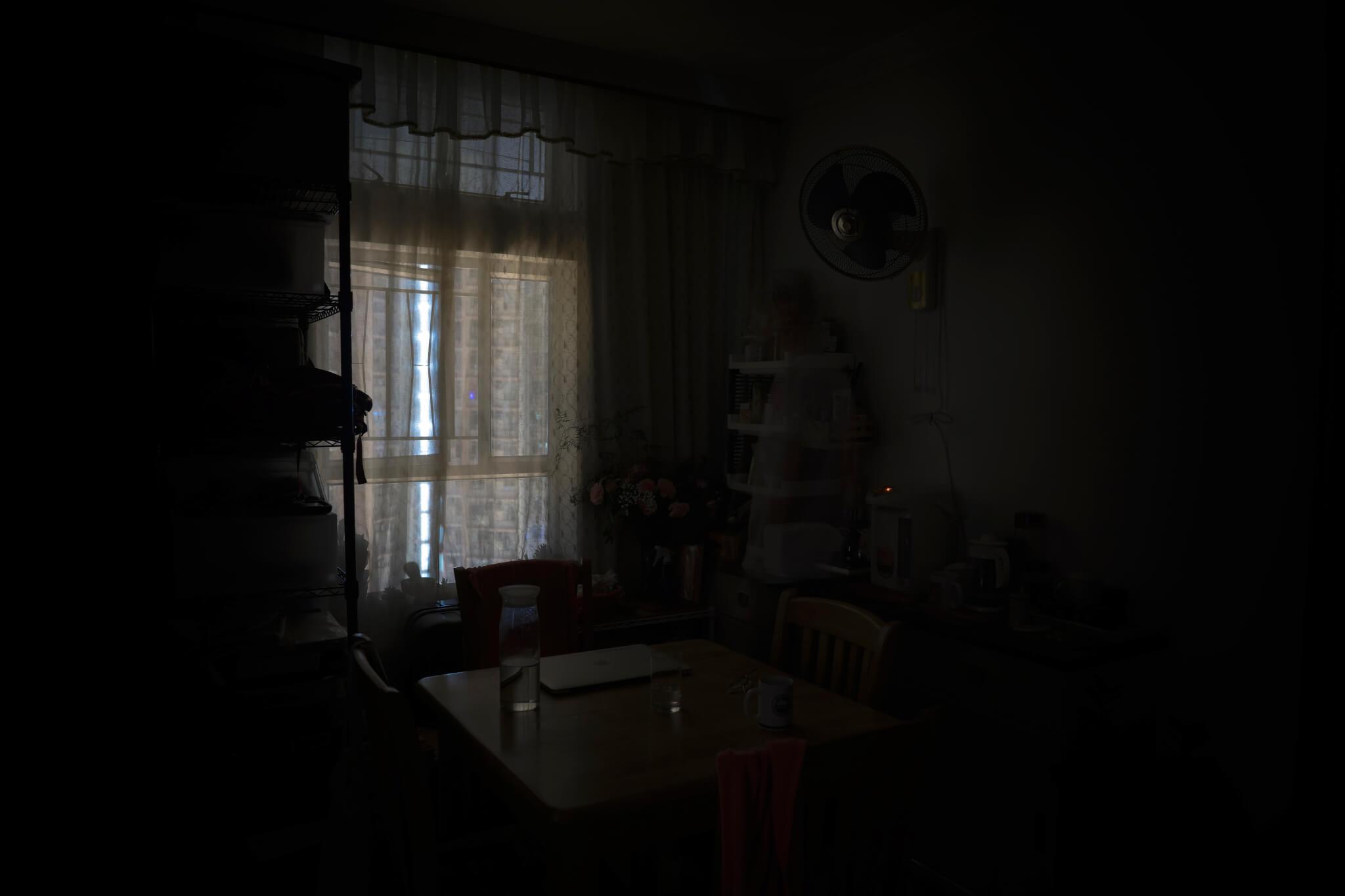 夜 - 10秒後、家中、85秒