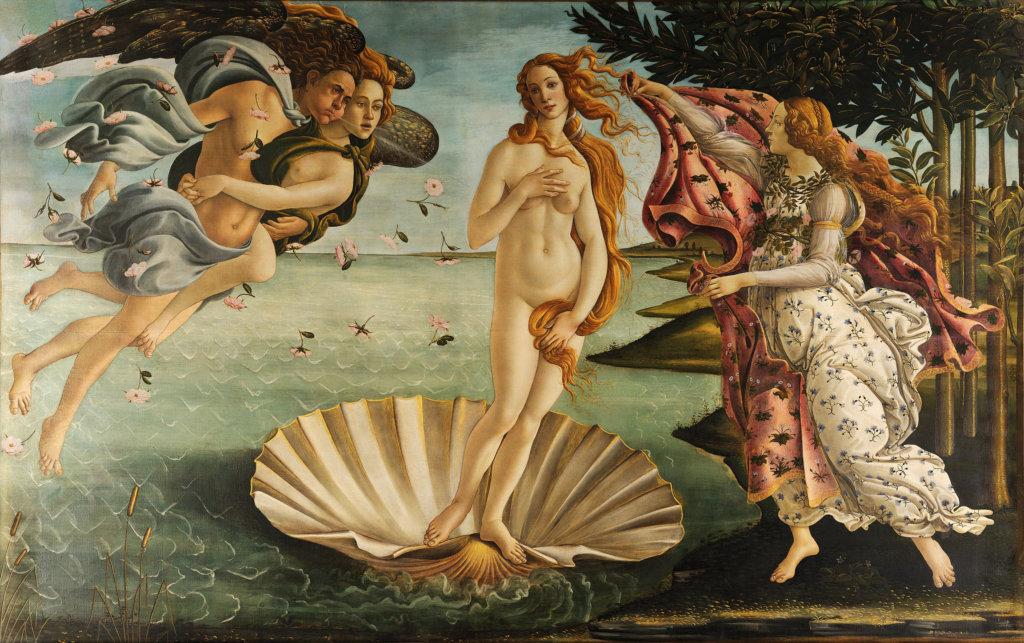 《維納斯的誕生(La nascita di Venere)》,1485