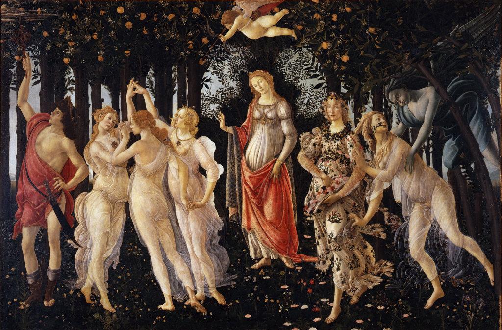《春(primavera)》,1482