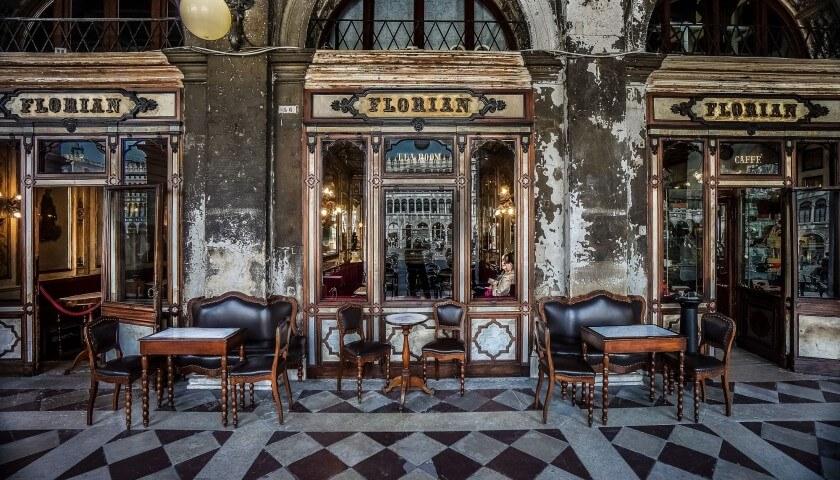 Caffè Florian已有三百年歷史。