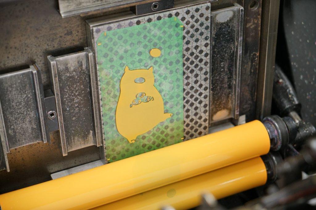 黃洛尹以活字印刷數量印得最多的,是這批豬年利市封,目的是推廣傳統印藝。