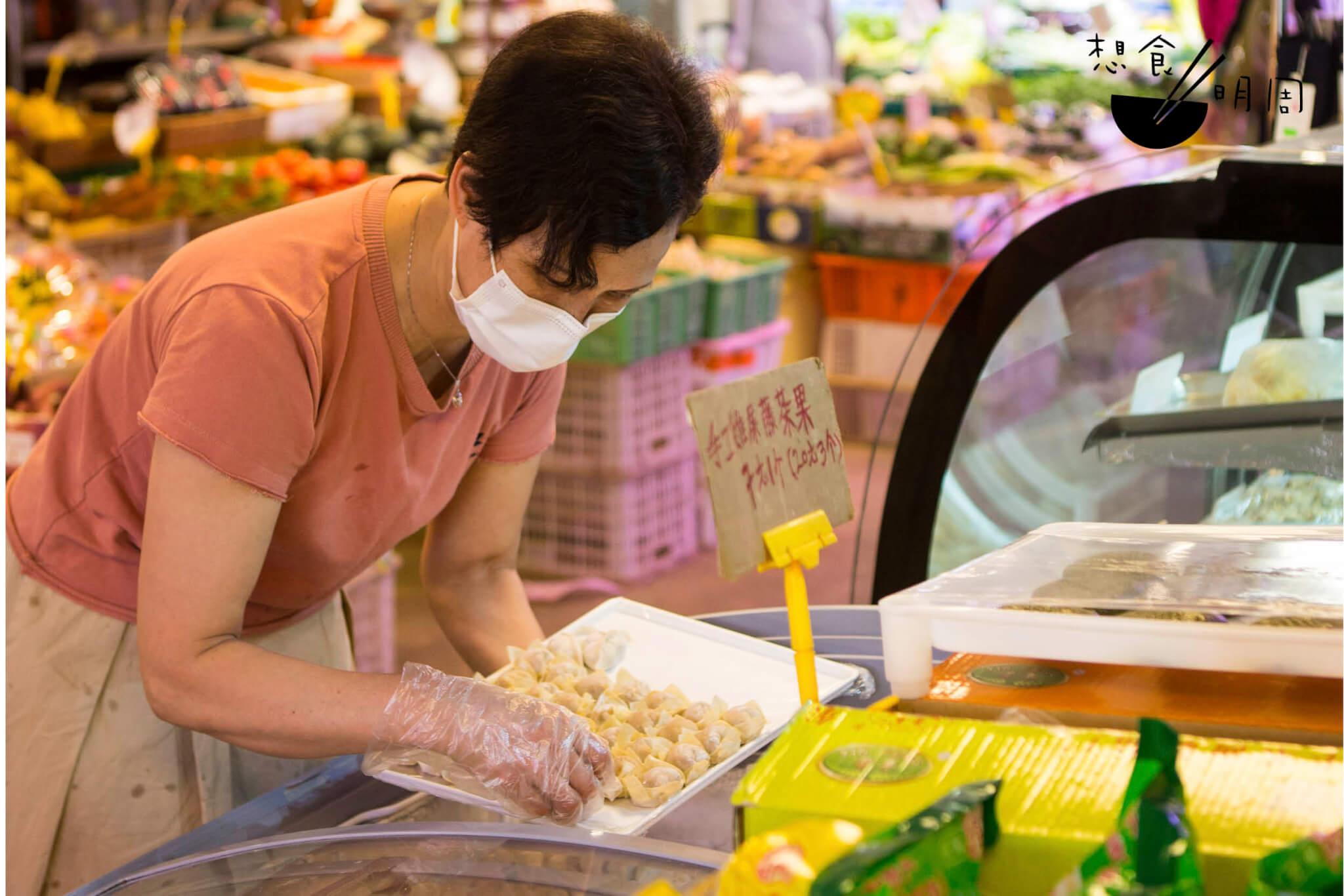 每日手工製的餃子數量有限,售完即止。
