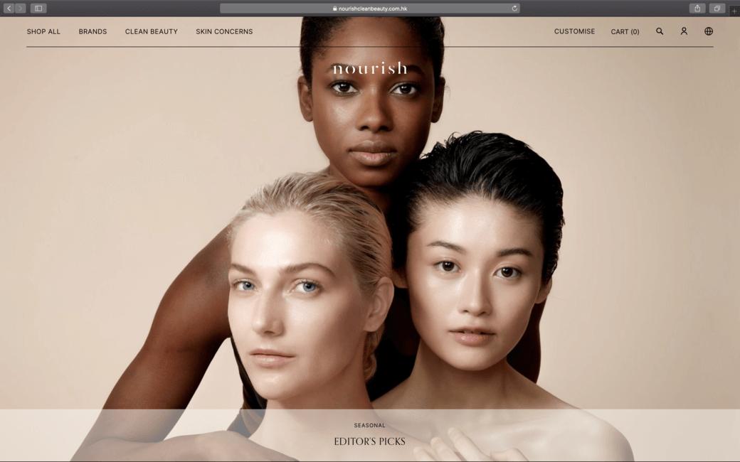 本地綠色美容護膚平台 Nourish Beauty