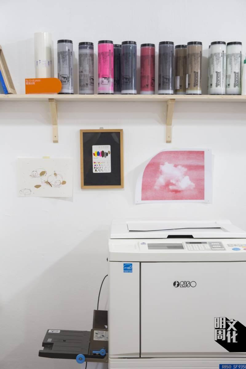 Risograph印刷機