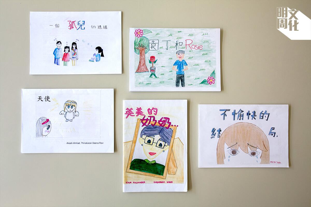 羅嘉怡認為,教材貼合非華語生的經歷,有助學生投入學習。學生創作故事書,過程中可以運用語文,出版可以提升學生自信,同時為老師提供教材,一舉多得。