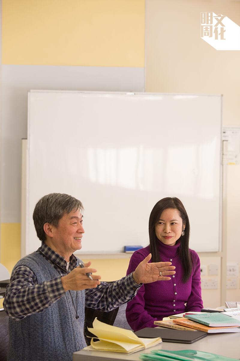 (左)劉國張博士(右)羅嘉怡博士