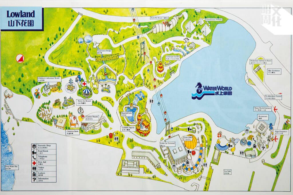 1992年的地圖