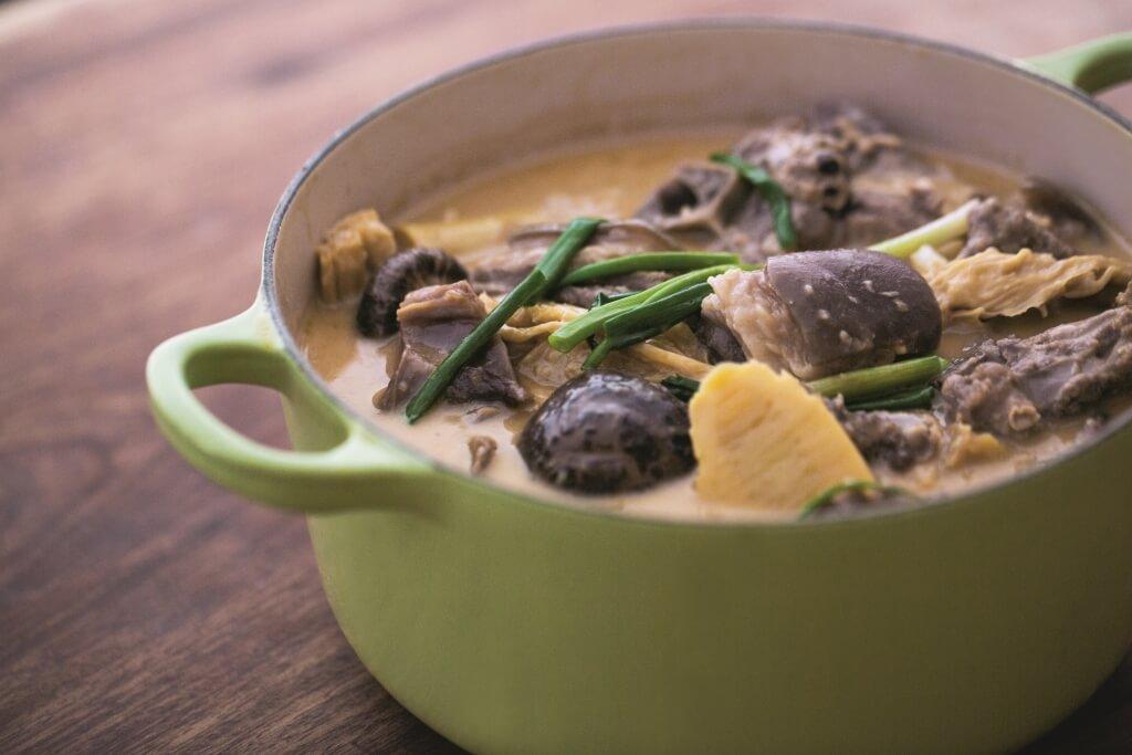冬日美食:在家自製暖身羊腩煲   散發誘人脂香