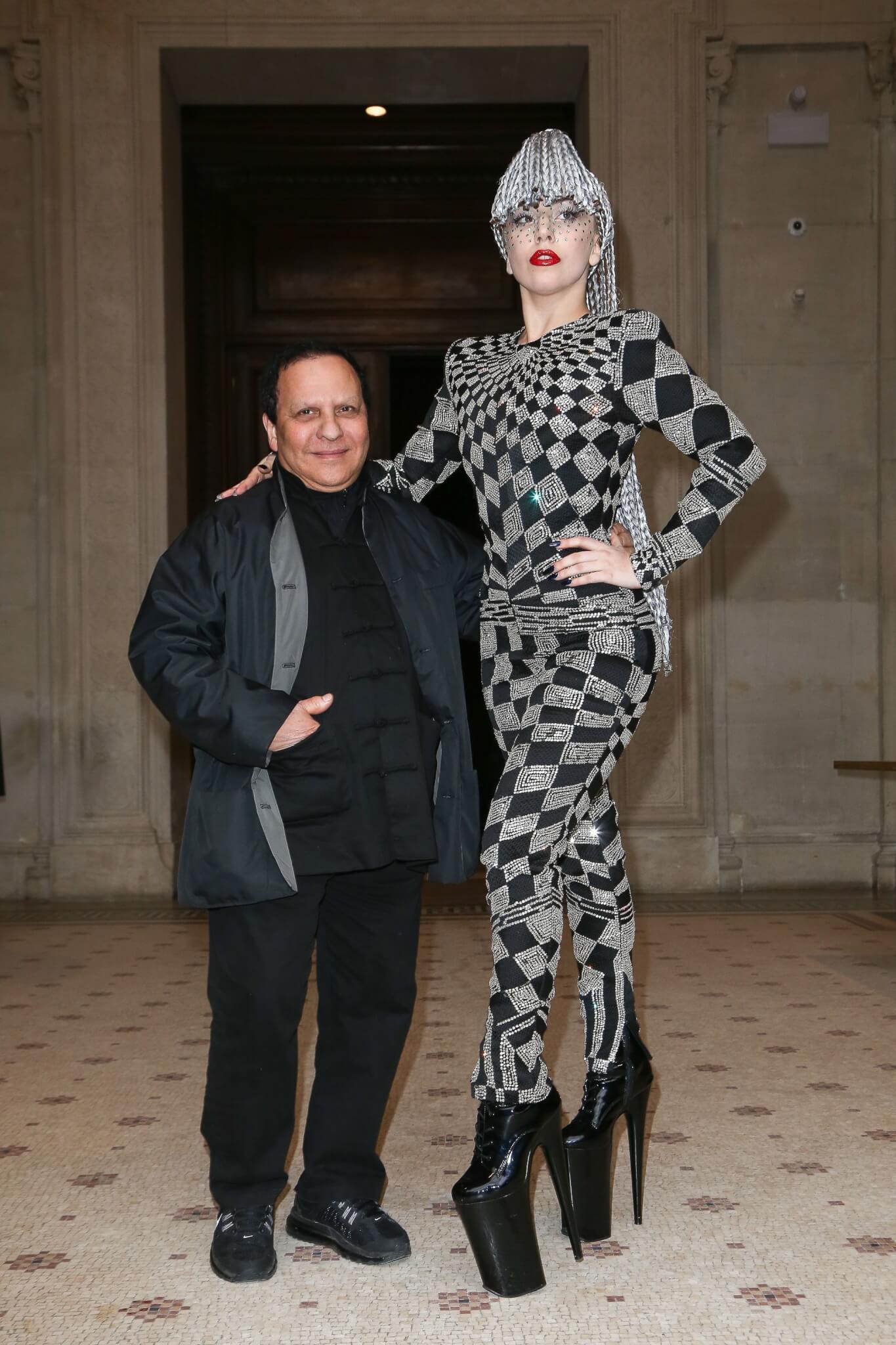 Lady Gaga與Azzedine Alaïa